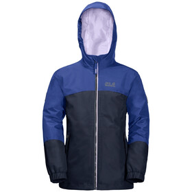 Jack Wolfskin B Iceland 3-in-1 Jas Kinderen, blueberry